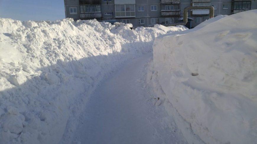 Дорога к нашему дому в Сибири