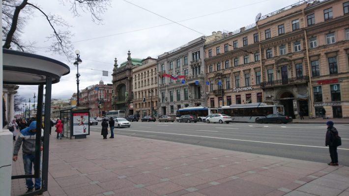 Главная улица Петербурга - Невский проспект
