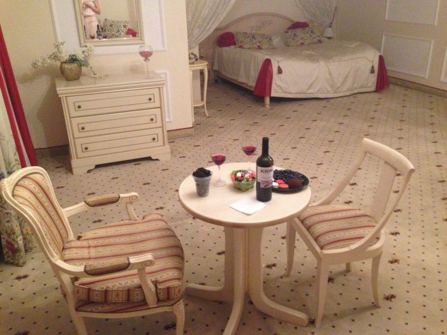 Романтический люкс в отеле