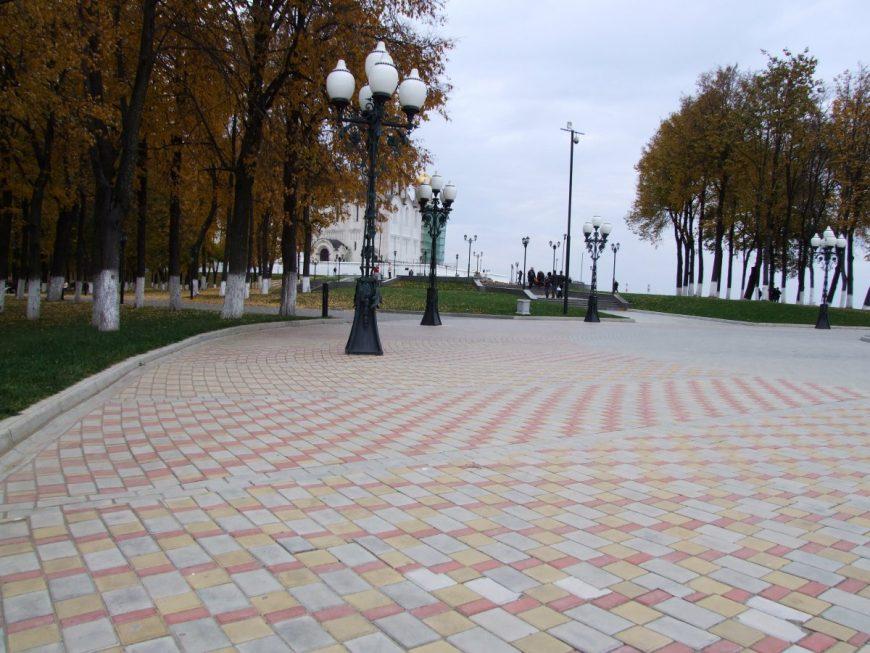Один из парков г. Владимира