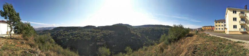 Панорама Бермамытского ущелья