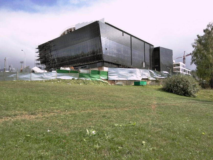 Строительство олимпийского комплекса