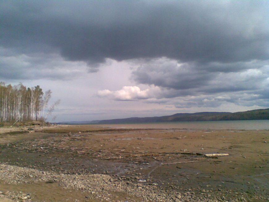 28 км Байкальского тракта, вид на Ангару