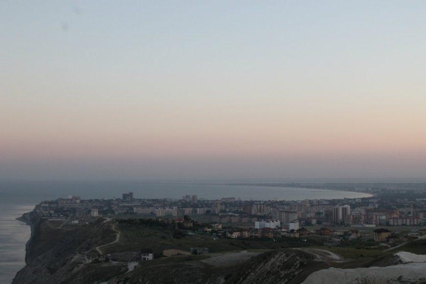 Панорама Анапы ранним утром со стороны п. Супсех
