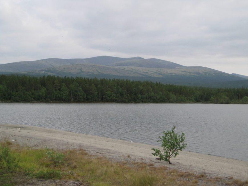 Заполярное озеро Имандра