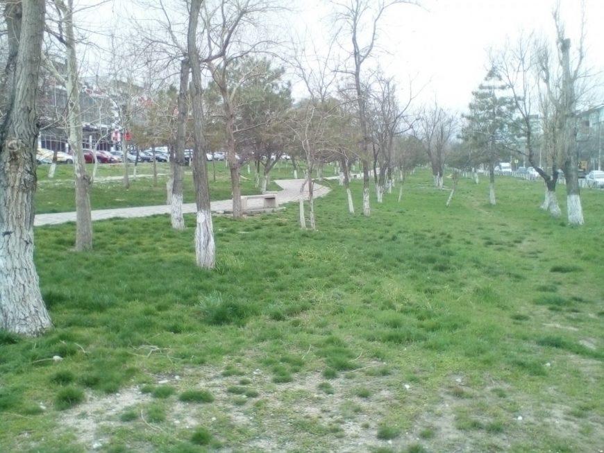 Март в Новороссийске