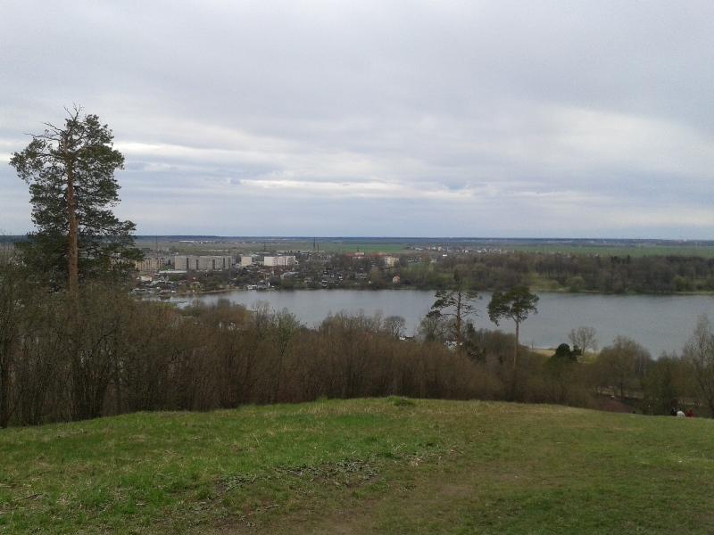 Дудергофский парк. Вид с холма