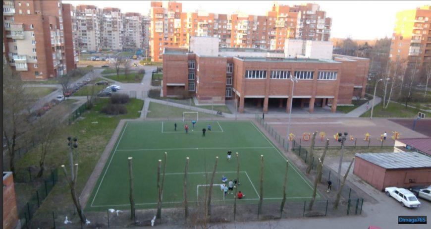 Кронштадт, 19-ый квартал. Фото с Яндекс-карт, автор Dimaga76S