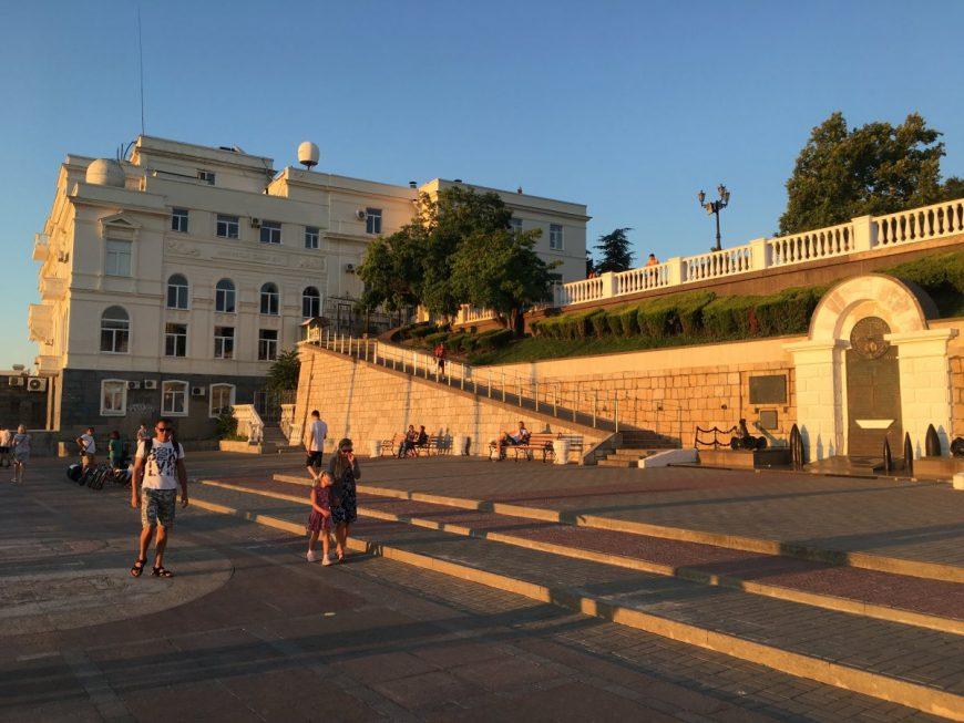 Набережная Севастополя